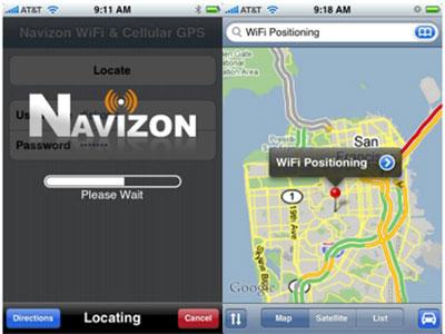Navizon, uno pseudo GPS per L'iPhone