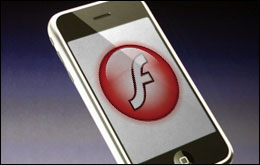 flash per iphone