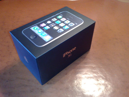 iphone 3g unboxed
