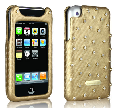 iphone case oro e diamanti gold diamonds case-mate