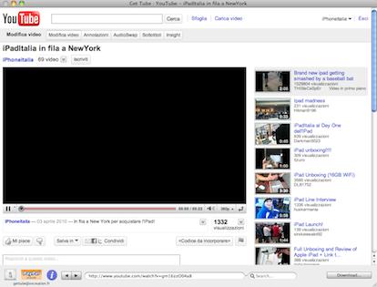 Get Tube (Mac): applicazione gratuita per scaricare i video